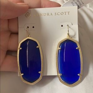 Kendra Scott Danielle earrings - Blue